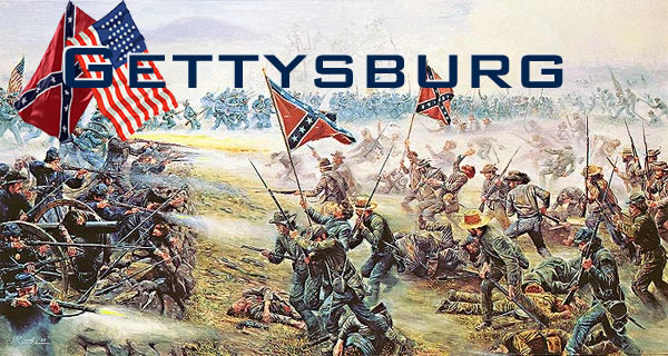 the battles of gettsyburg Selected views of the battle of gettysburg on july 1st of  there where battles fought at each location as well as fighting on culp's hill that had a.